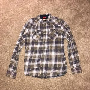 Mens Triple Five Soul Flannel